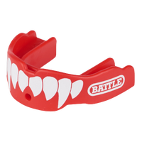 Battle Sports Fang 2-Pack - Adult - Red / White