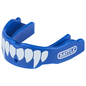 Battle Sports Fang 2-Pack - Adult - Blue/White