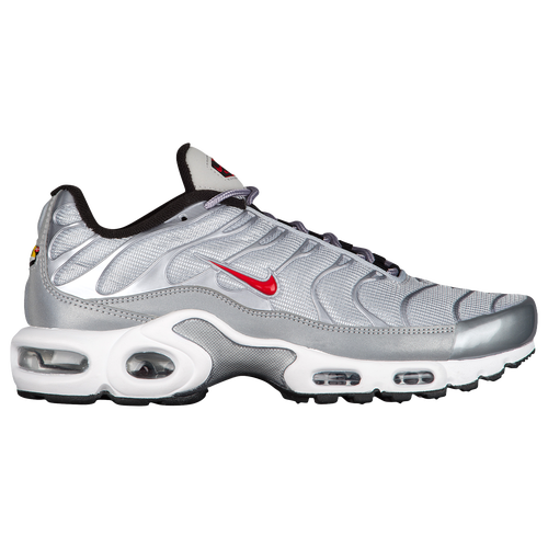 Nike Air Max Plus - Women's - Silver / Red