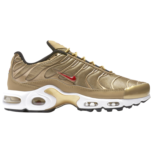 dc34a6f1edd235 Nike Air Max Plus - Women s - Casual - Shoes - Metallic Gold Varsity  Red Black White