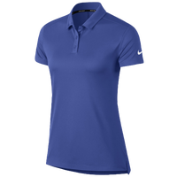 Nike Dri-Fit Victory Golf Polo - Women's - Blue / Blue