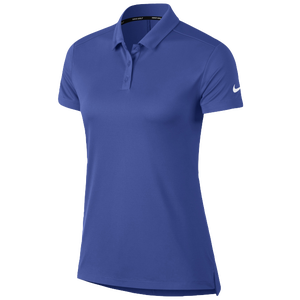 Nike Dri-Fit Victory Golf Polo - Women's - Game Royal/White