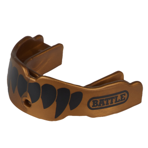 Battle Sports Fang 2-Pack - Adult - Gold/Black