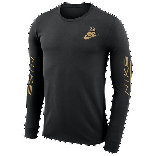 Nike Foam 20 Court Anniversary Long Sleeve - Men's Casual - Black 8762010