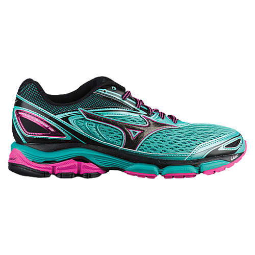 Mizuno Wave Inspire 13 - Women's Running Shoes - Turquoise/Electric/Black 8774F4U