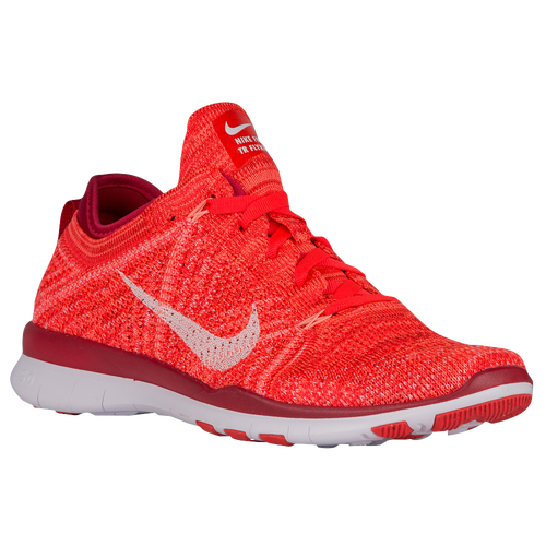 b9a9391e10a26 Nike Free TR 5 Flyknit - Women s - Training - Shoes - Bright Crimson ...