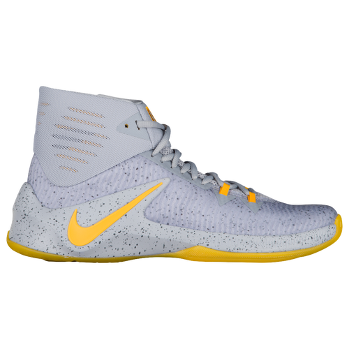 Nike Zoom Clear Out - Men's - Basketball - Shoes - Wolf Grey/University  Gold/Cool Grey