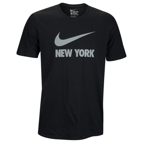 Nike Graphic T-Shirt - Men's Casual - Black/Silver Reflective 89091705