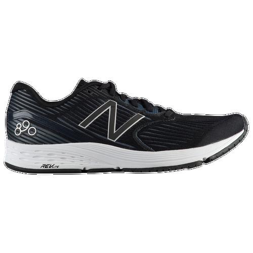New Balance 890 V6 - Men's Running Shoes - Black/Thunder/White Munsell 890BK6