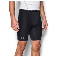 "Under Armour HG Armour 2.0 9"" Compression Shorts - Men's - Black / Grey"