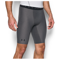 "Under Armour HG Armour 2.0 9"" Compression Shorts - Men's - Grey / Black"