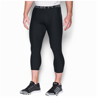 Under Armour HG Armour 2.0 3/4 Compression Tights - Men's - Black / Grey