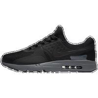 nike air max zero black and grey
