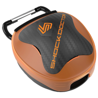 Shock Doctor Anti-Microbial Mouthguard Case - Orange / Black
