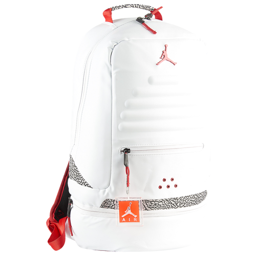 new product 51910 789b0 Jordan Retro 3 Backpack - Basketball - Accessories - White Fire Red Cement