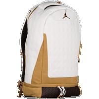 ecae61e70b Jordan Retro 13 Backpack - White   Gold