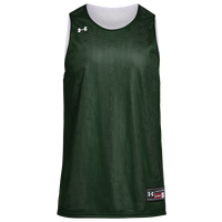 Under Armour Team Triple Double Jersey - Men's - Dark Green / White