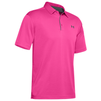 Under Armour Tech Golf Polo - Men's - Pink