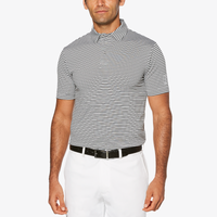PGA Tour Feeder Stripe Golf Polo - Men's - White