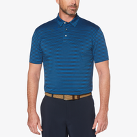 PGA Tour Feeder Stripe Golf Polo - Men's - Blue
