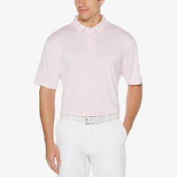 PGA Tour Feeder Stripe Golf Polo - Men's - Pink
