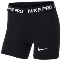 Nike Pro Boy Shorts - Girls' Grade School - Black