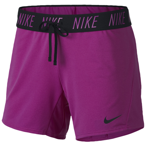 Nike Attack Shorts - Women's Training - Hyper Magnet/Black 90470531