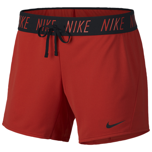 Nike Attack Shorts - Women's Training - Habanero Red/Black 90470634