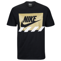 Nike Graphic T-Shirt - Men's - Casual - Clothing - Black/Gold ...