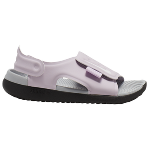 Nike Sunray Adjust 5 Sandal - Girls' Preschool - Iced Lilac/White/Light Smoke Grey