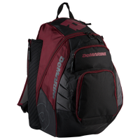 DeMarini VOODOO Rebirth Backpack - Grey / Maroon
