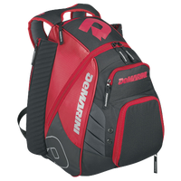 DeMarini VOODOO Rebirth Backpack - Red / Grey