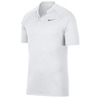 Nike Dry Momentum Blade Golf Polo - Men's - All White / White