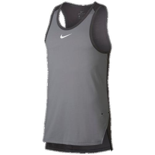 3fe5dfca63991 Nike Breathe Elite Tank - Men s - Basketball - Clothing - Diffused Blue Navy Hyper  Cobalt