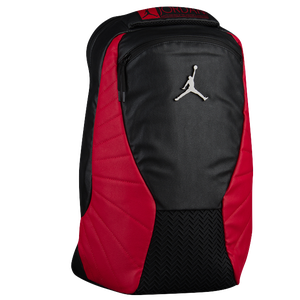 Jordan Retro 12 Backpack - Black/Gym Red/Gray