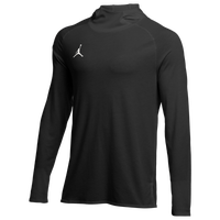 Jordan Team 23 Alpha L/S Hooded Top - Men's - Black