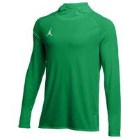 Jordan Team 23 Alpha L/S Hooded Top - Men's - Green