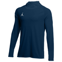 Jordan Team 23 Alpha L/S Hooded Top - Men's - Navy