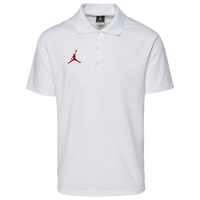 Jordan Team Polo - Men's - White / Red