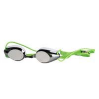 Arena Tracks Mirror Goggle - White / Grey