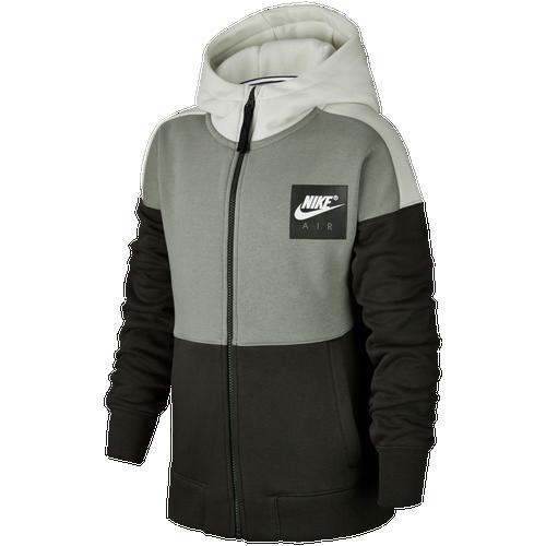 cc0c6bd74a Nike Air Full-Zip Hoodie - Boys  Grade School - Nike - Basketball - University  Red Black White