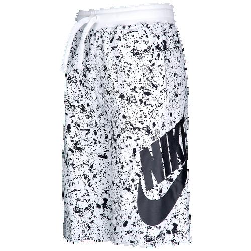 66a964785 Nike Alumni Shorts - Boys' Grade School - Casual - Clothing - White ...
