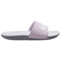 Nike Kawa Slide - Girls' Preschool - Pink / Grey