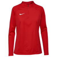 Nike Team Academy 18 Drill L/S Top - Women's - Red