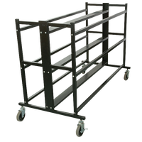 Porter Team 3 Tier Double Ball Cart