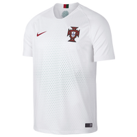 Nike Portugal Breathe Stadium Jersey - Men's - Portugal - White / Red