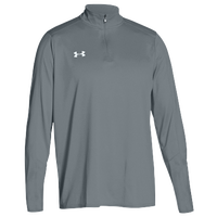 Under Armour Team Locker 1/4 Zip - Men's - Grey / Grey