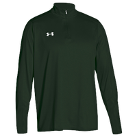 Under Armour Team Locker 1/4 Zip - Men's - Dark Green / Dark Green