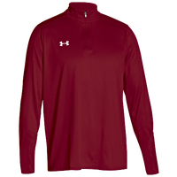 Under Armour Team Locker 1/4 Zip - Men's - Red / White