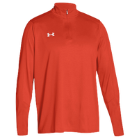 Under Armour Team Locker 1/4 Zip - Men's - Orange / Orange